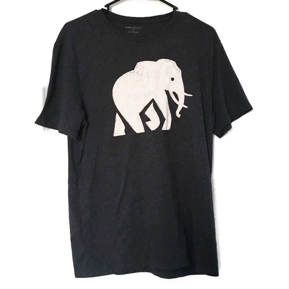 Banana Republic Elephant Logo Graphic T Shirt